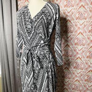 Verse Stitch Fix Ines Faux Wrap Knit Dress Large